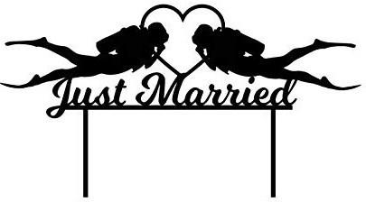 Félicitations aux jeunes mariés !!